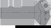 Everede E10S SWLCR-3 Carbide Boring Bar